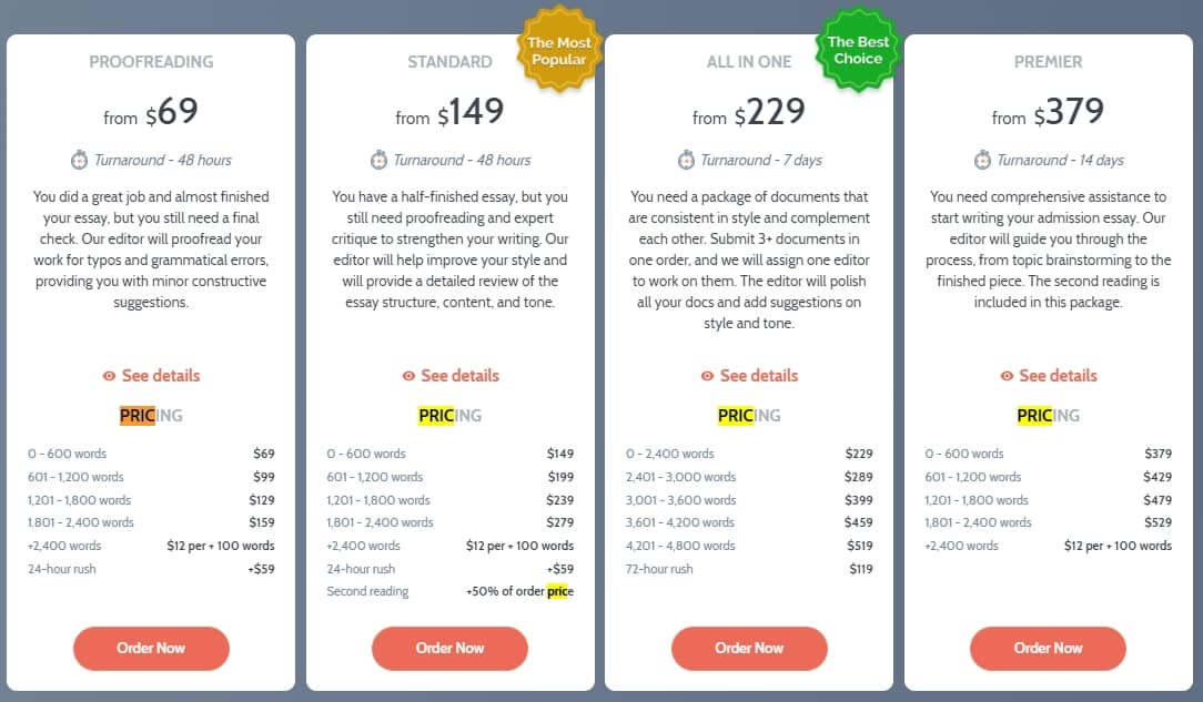 essayedge.com pricing