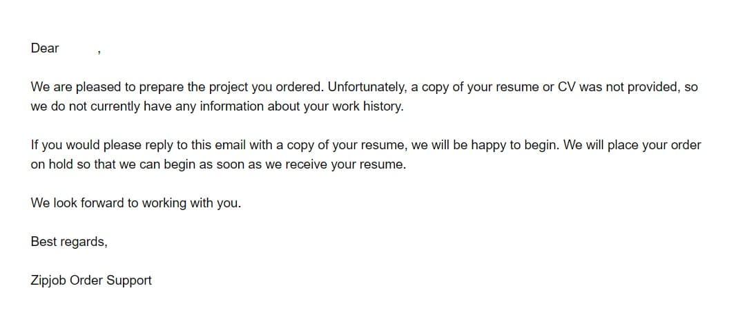 zipjob send your resume
