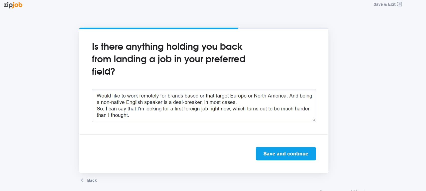 zipjob what is holding you back